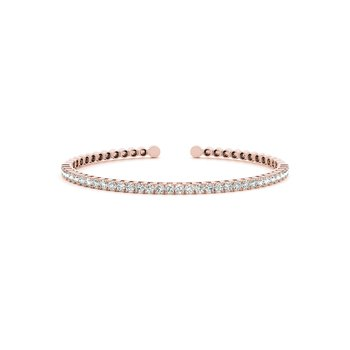 Cuff Diamond Bangle Bracelet