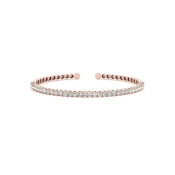 Cuff Diamond Bangle Bracelet