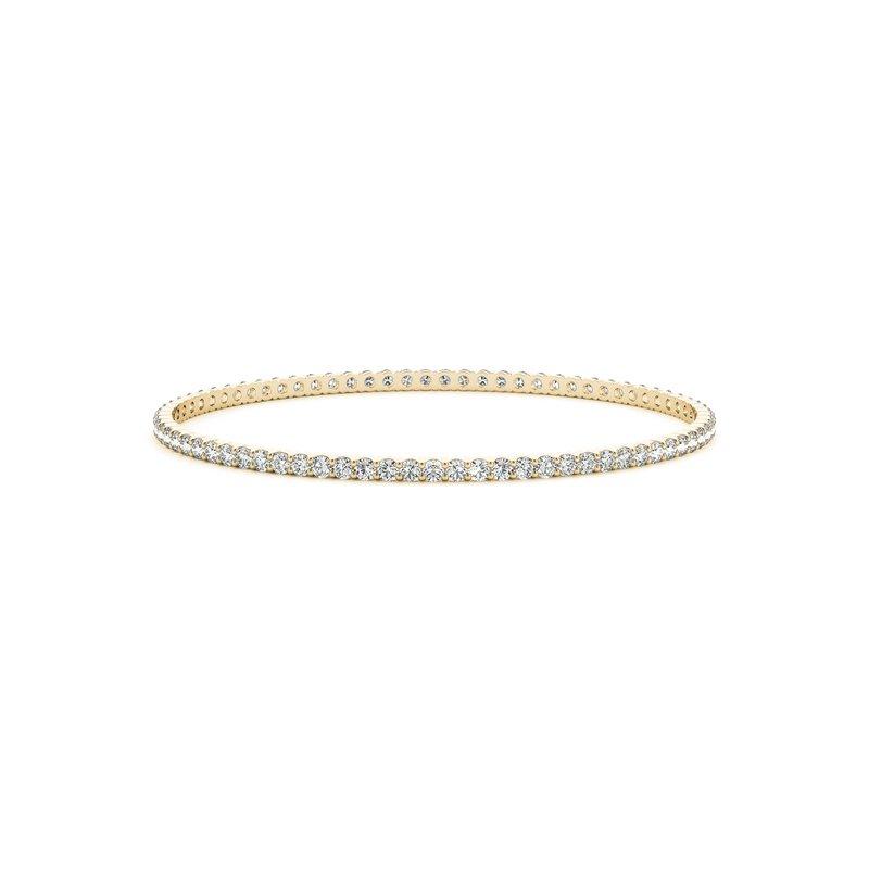 Full Diamond Bangle Bracelet