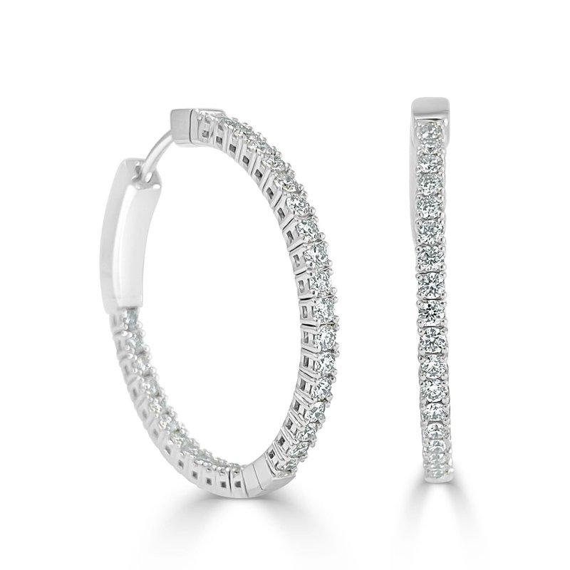 14K Gold 1 Inch Flexible Hoop Earrings
