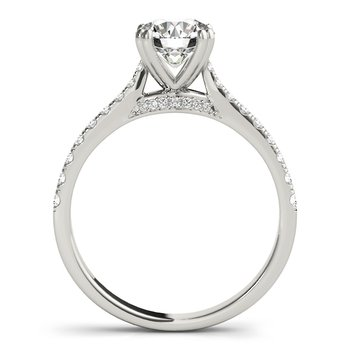 Classic Delicate Diamond Mounting