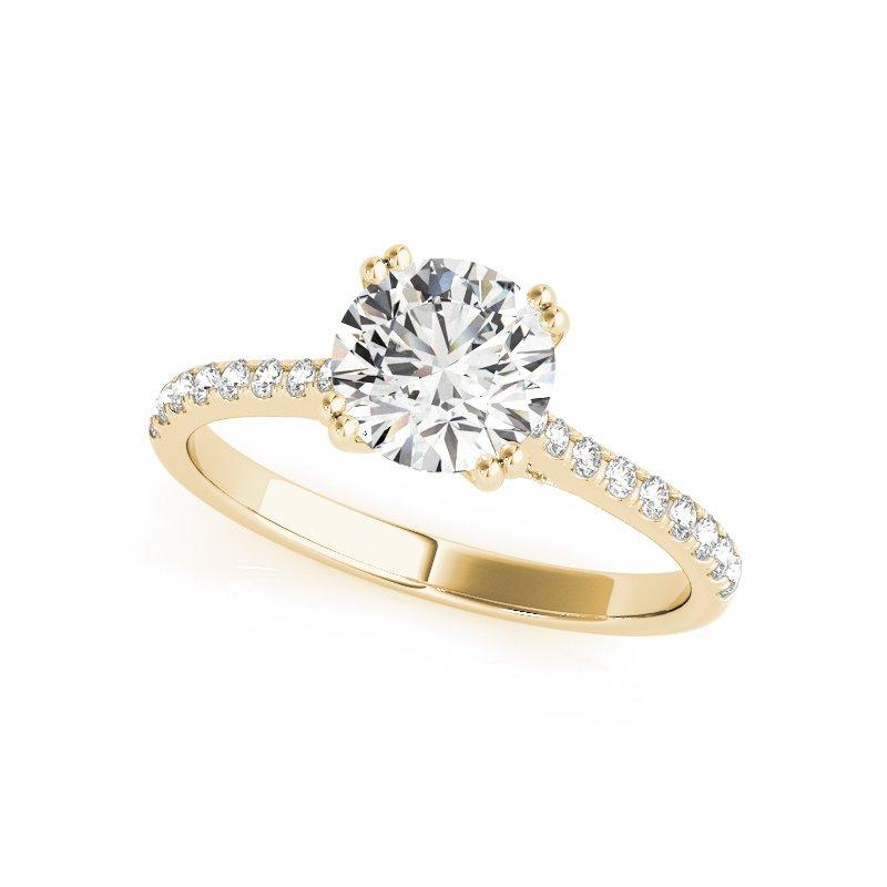 Classic Delicate Diamond Mounting