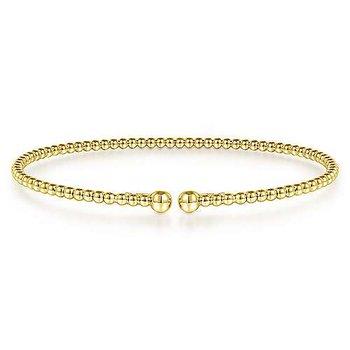14 Gold Bujukan Bead Bangle