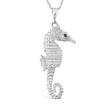 The Seahorse Pendant – Sterling Silver