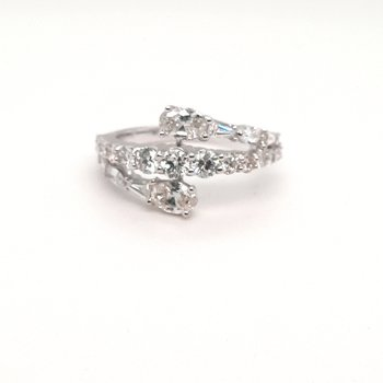 14K Wg 0.95Ctw Diamond Fashion Ring