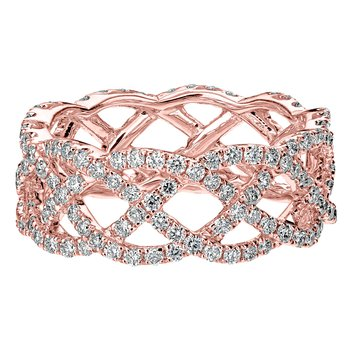 Lattice Eternity Band