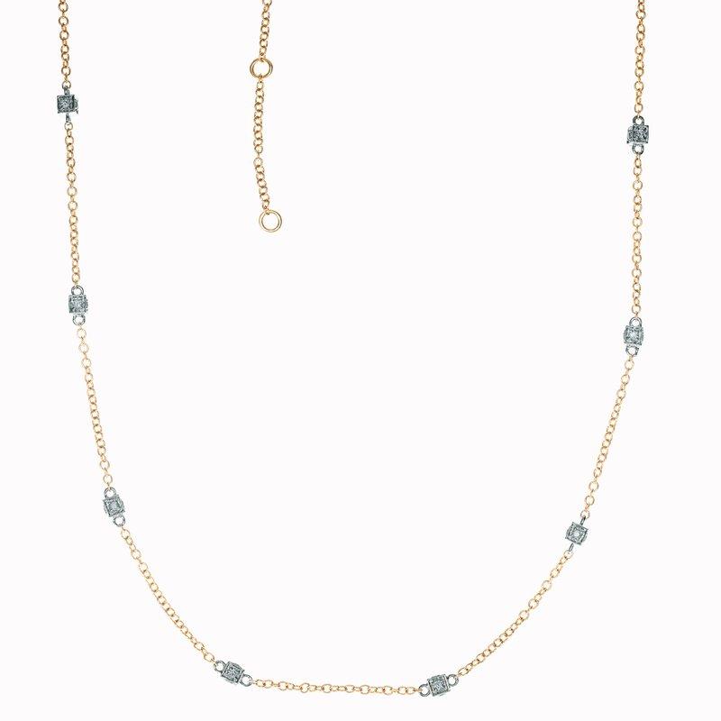 Diamond Box Necklace