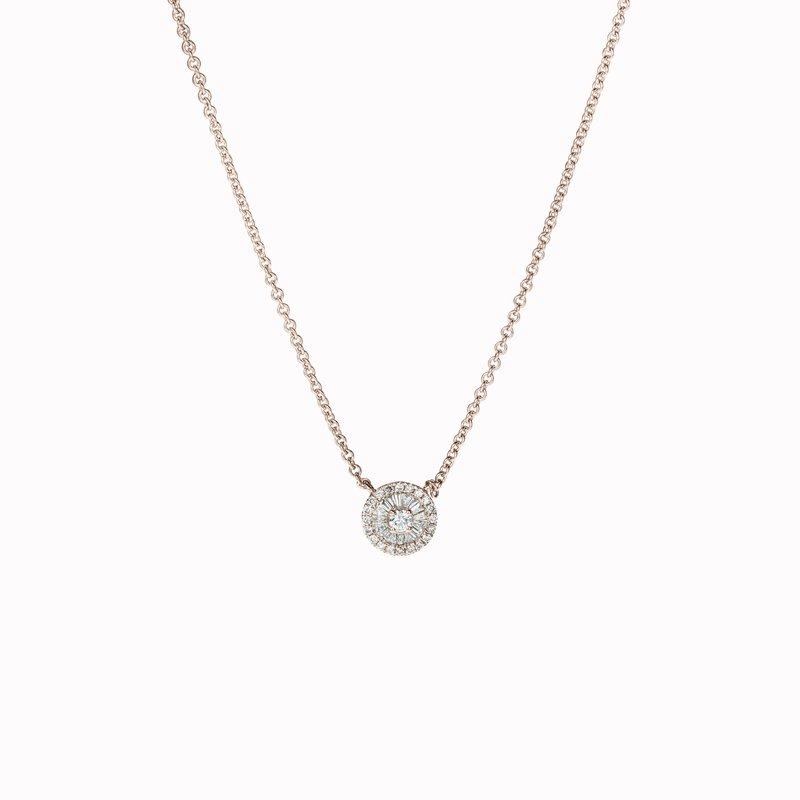 Small Diamond Pinwheel Pendant