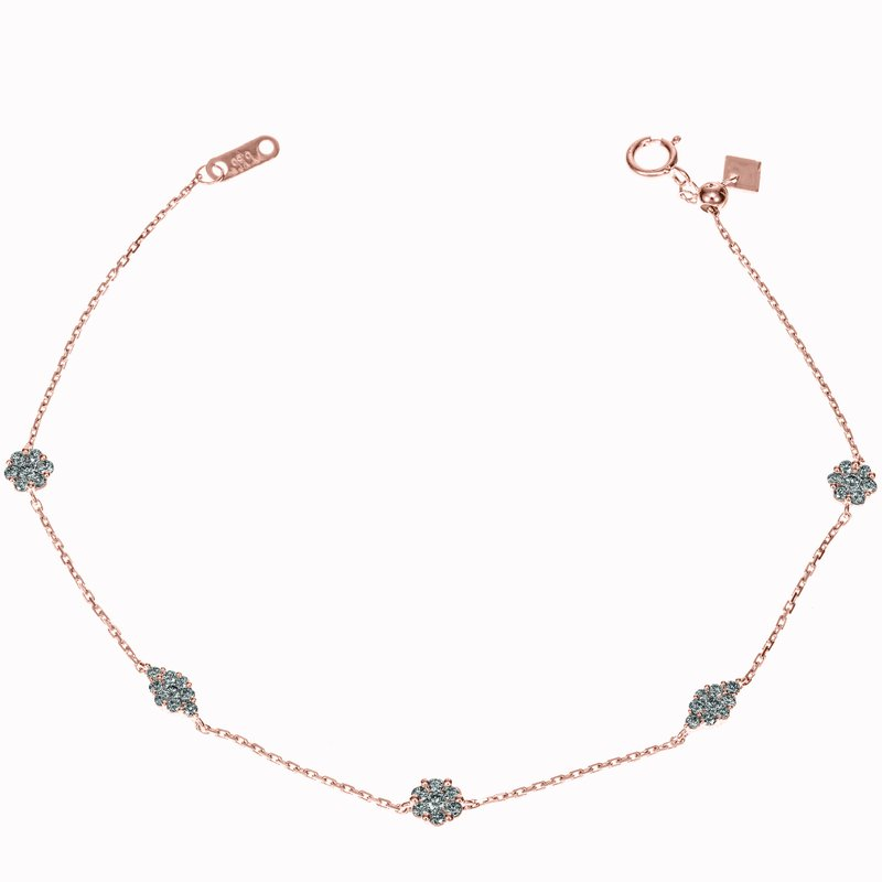Mixed Shaped Diamond Bracelet