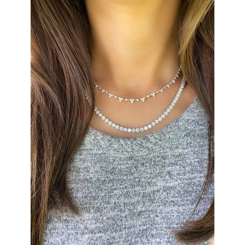 Trinity Diamond Necklace
