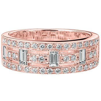 Deco Diamond Band