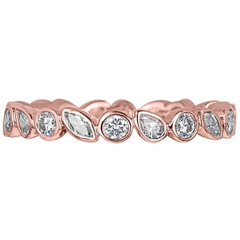 Diamond Fancy Shape Eternity Band