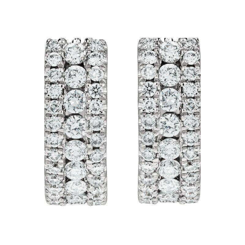 Triple Column Earrings