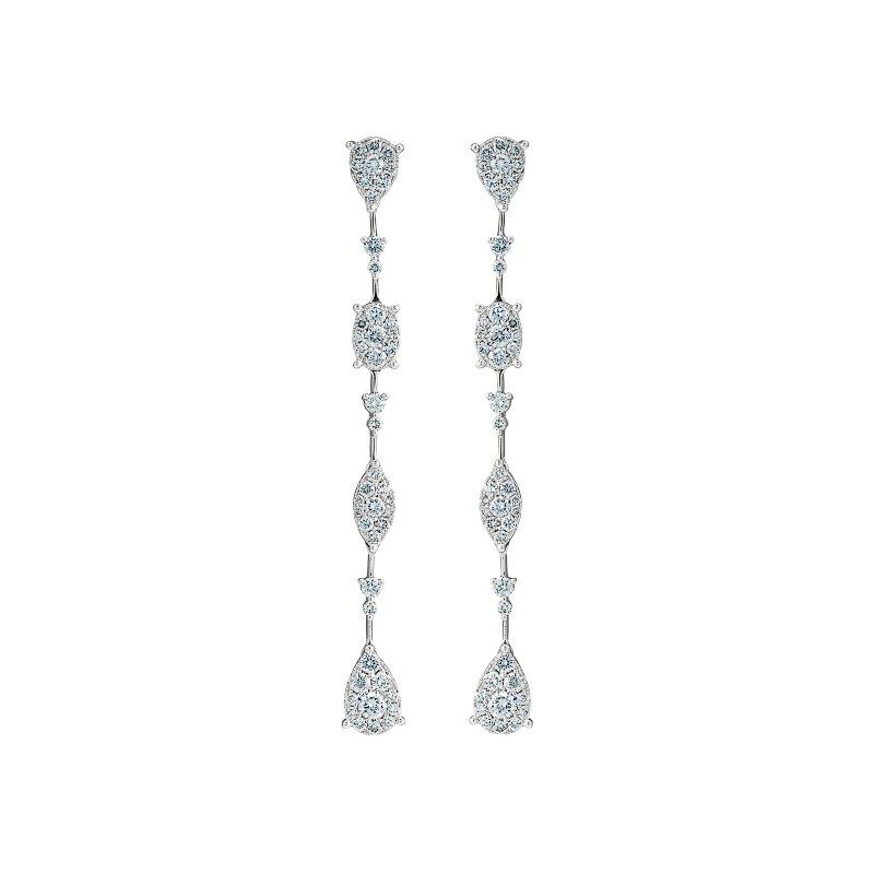 Multi Shape Drop Earrings