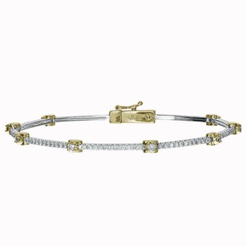 Diamond Signature GAIL Bracelet
