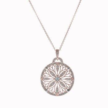 Diamond Medallion Pendant