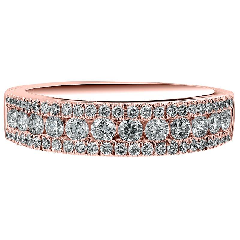 Diamond 3-Row Ring