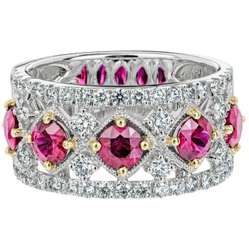 Ruby and Diamond Lattice Band