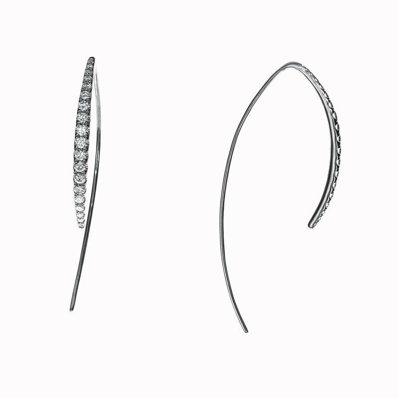 Diamond Wire Earrings