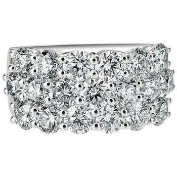 Large Diamond Pave Band
