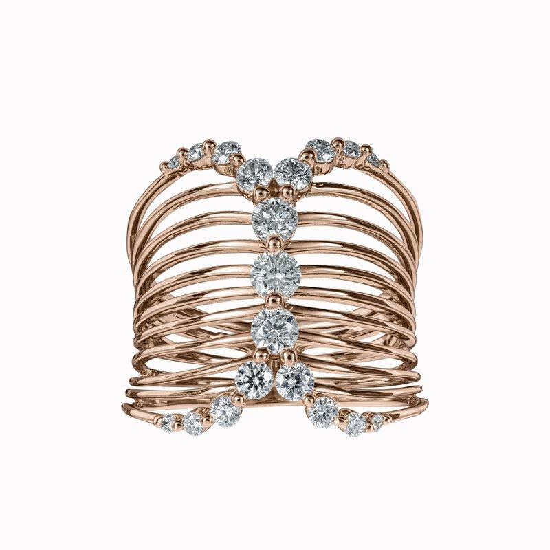 Diamond Corset Ring