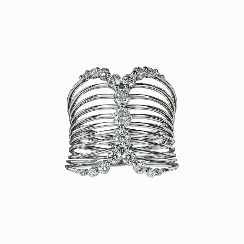 Diamond Corset Ring