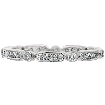 Diamond Dahlia Eternity Band
