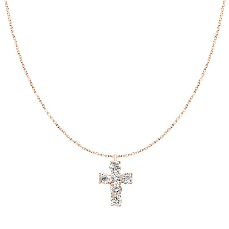 Petite Diamond Cross