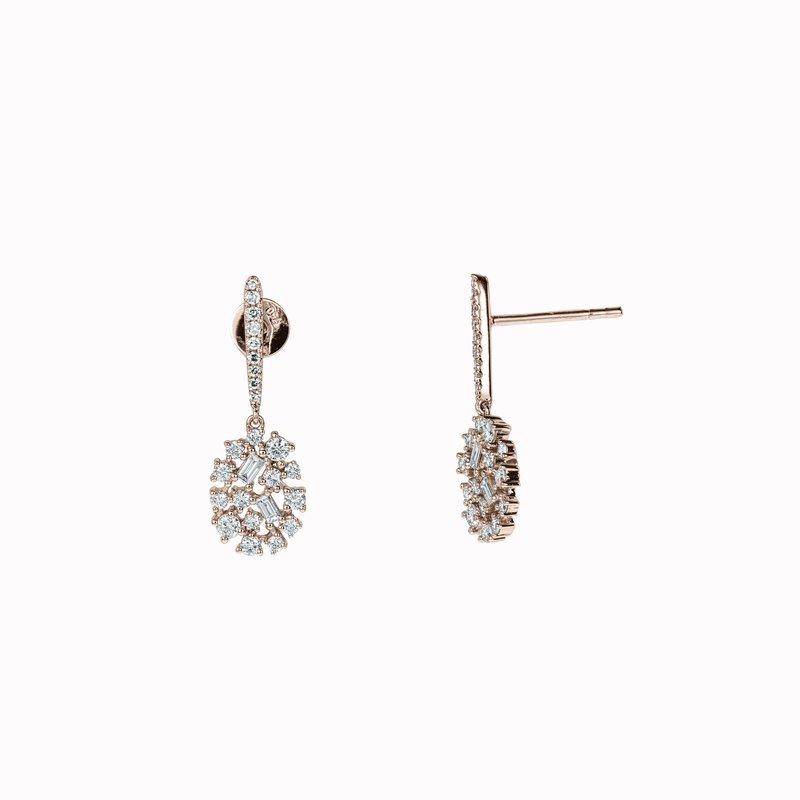 Diamond Galaxy Earrings