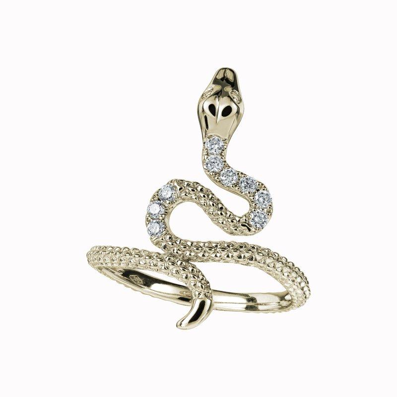 Diamond Snake Ring