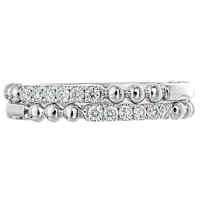 Double Stack Bead Band