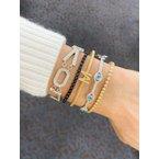 Black Diamond Tassel Bracelet