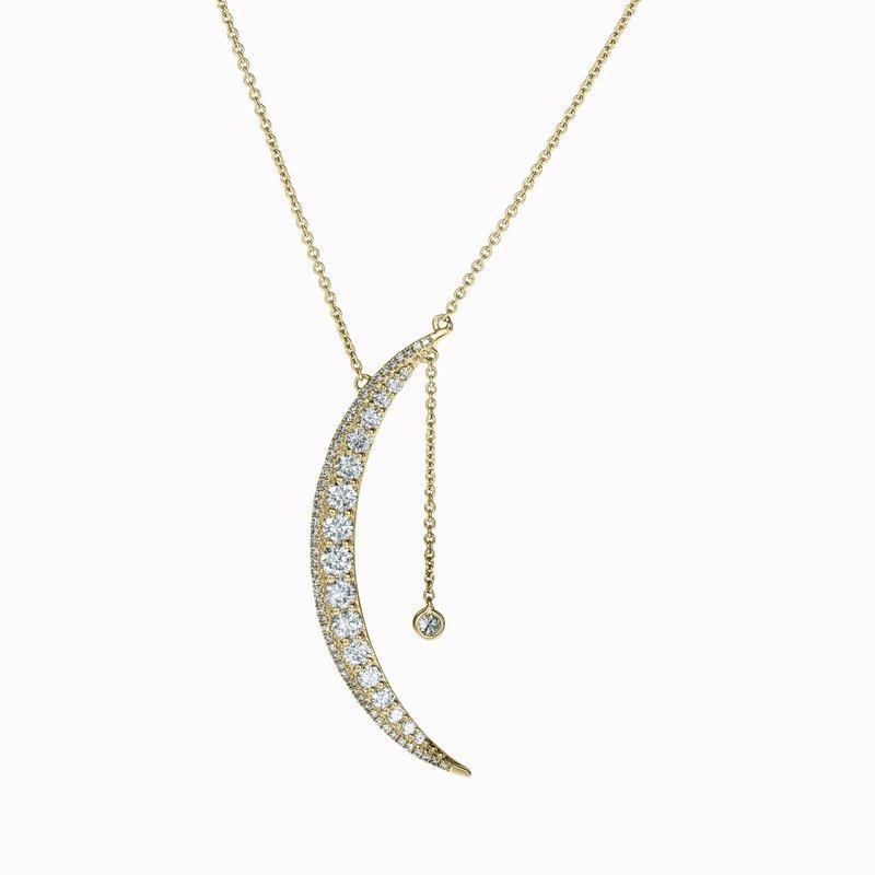 Diamond Crescent Moon