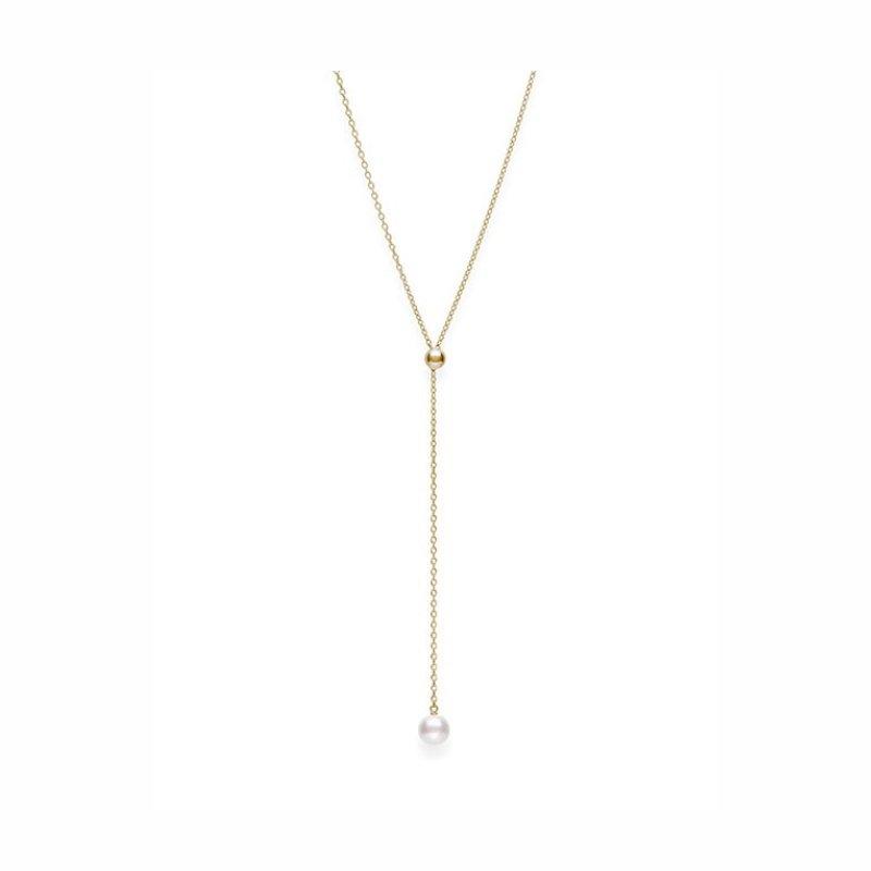 Mikimoto Lariat Style Pearl Pendant