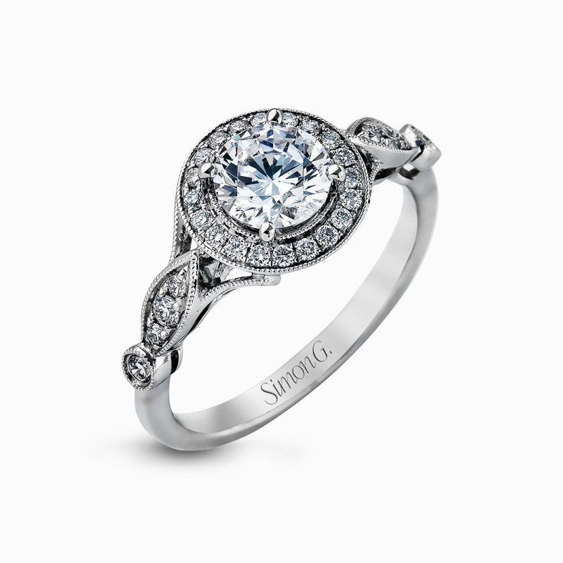 Simon G Passion Collection Halo Ring