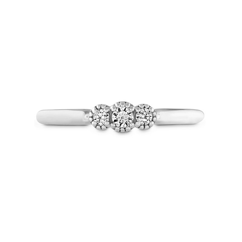 Hearts on Fire Engagement Ring Complete