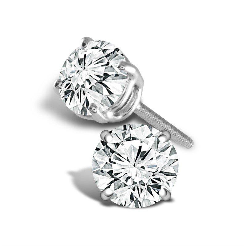 Showcase Collection 'Better' Diamond Studs: 1.50ctw