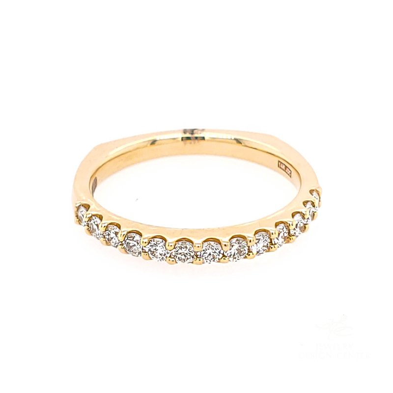 JDC Handcrafted Handcrafted Diamond Band