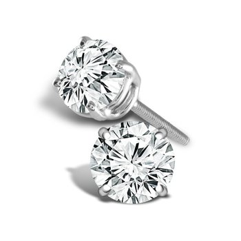 'Better' Diamond Studs: 0.20ctw