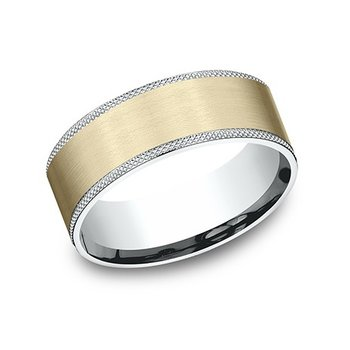 Two Tone Textured Band