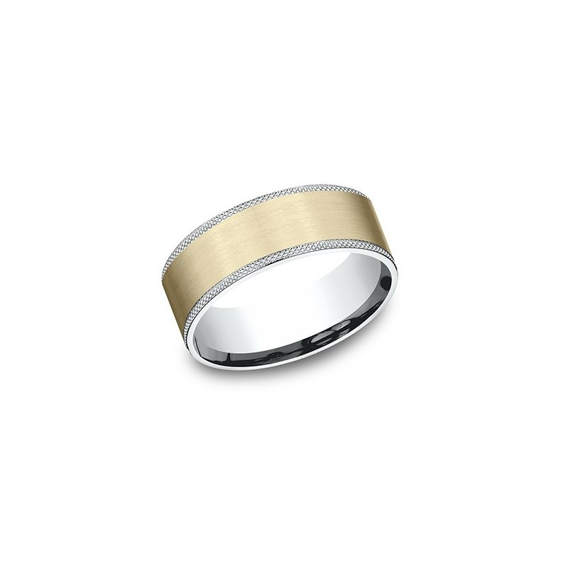 Benchmark Two Tone Textured Band