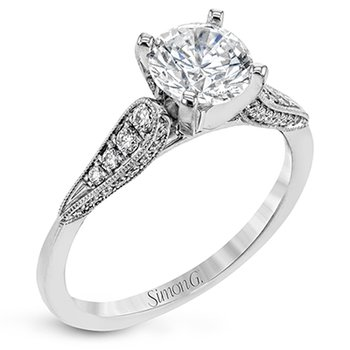 Sophisticated Solitaire Engagement Ring