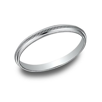 2mm Hammered Band