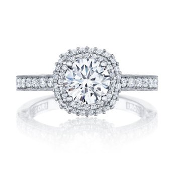 Blooming Beauty Halo Ring