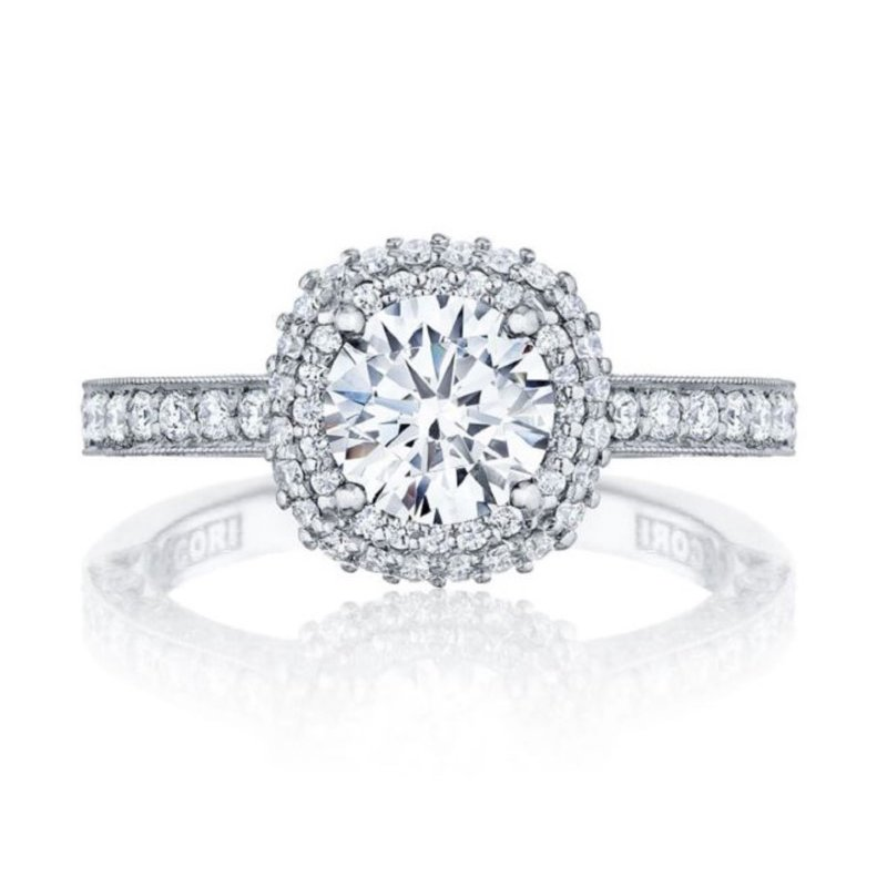 Tacori Blooming Beauty Halo Ring