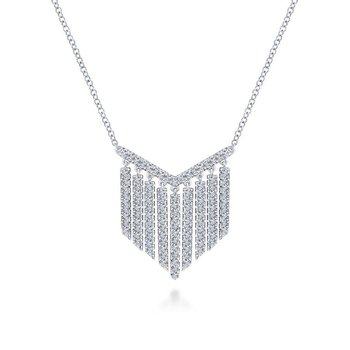 Diamond Fringe Pendant