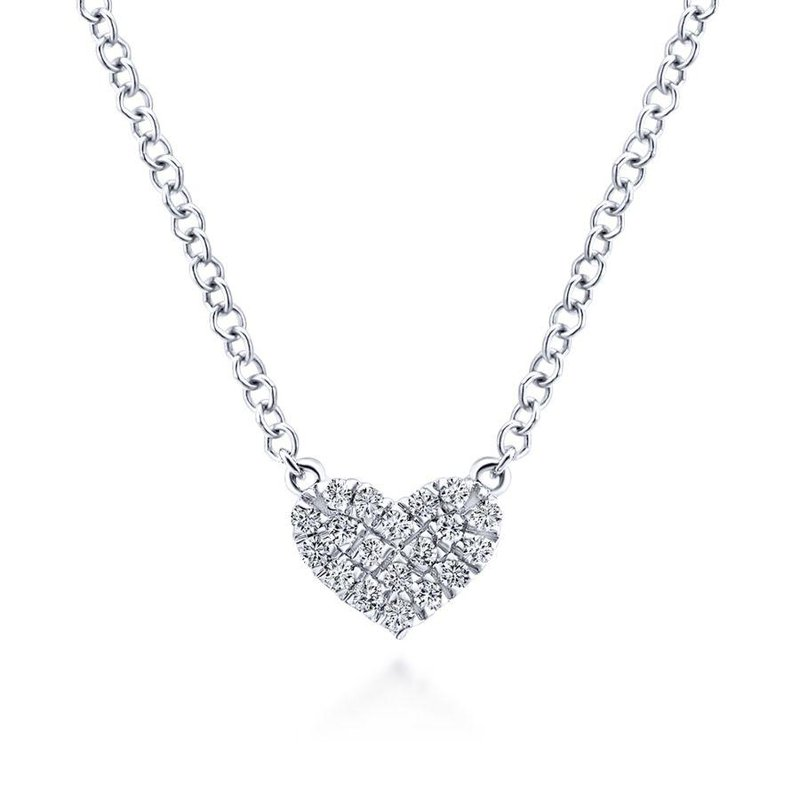 Gabriel Fashion Petite Heart Pendant