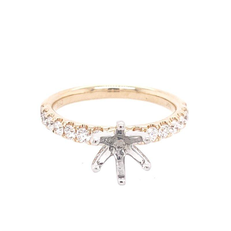 Showcase Collection Prong Set Diamond Engagement Ring