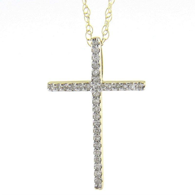 Showcase Collection Diamond Cross Pendant