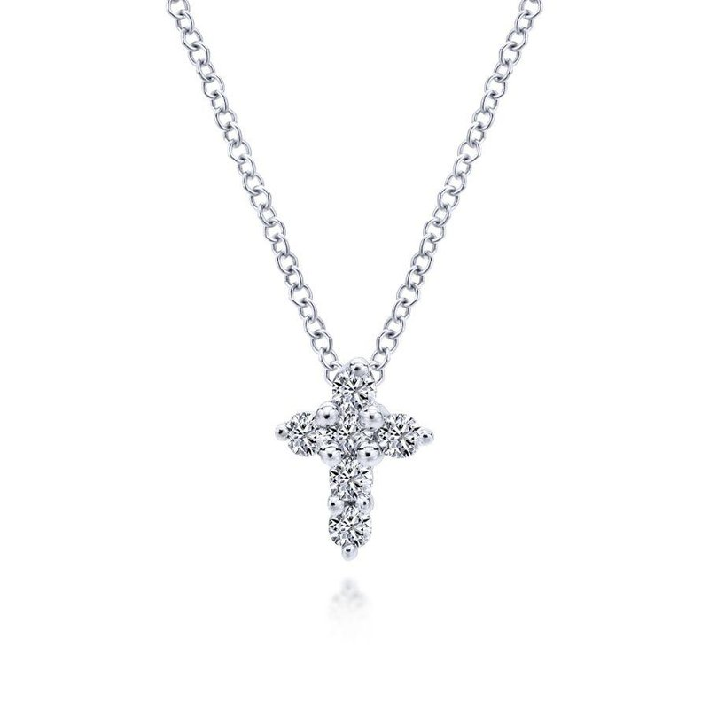 Gabriel Fashion Petite Diamond Cross